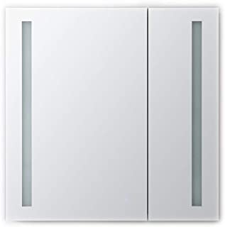AQUADOM Royal Basic 30in x 30in x 5in, LED Medicine Cabinet, Touch Screen Button, Dimmer