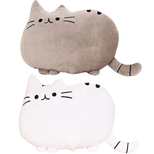 [ヤクニタツ]ふわふわ やわらか 可愛すぎる 猫 クッション オフィス 勉強 机 インテリア などに 高反発 か...