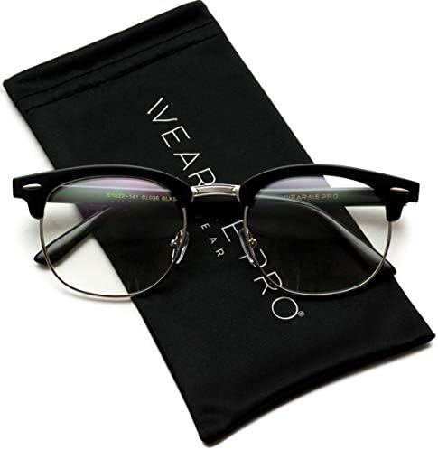 Half rimmed glasses men