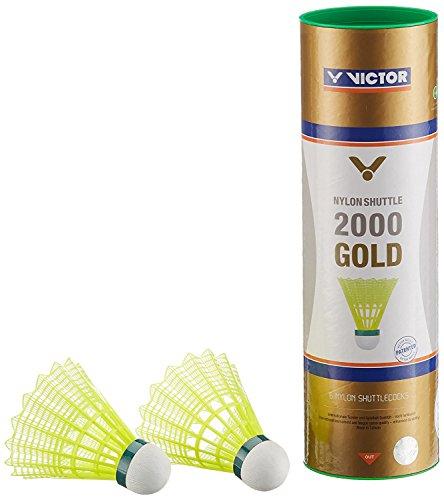 VICTOR Nylon Shuttle 2000 gold-Gelb-Grün