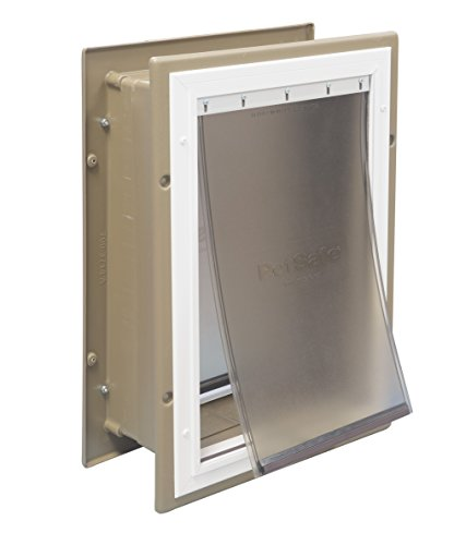 PetSafe Wall Entry Aluminum Pet Door with...