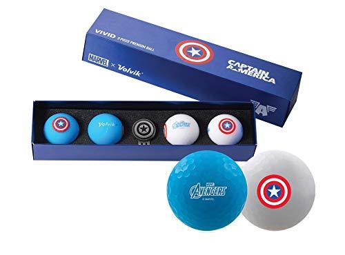 Volvik Marvel Geschenkset – Captain America (Ausrüstung)