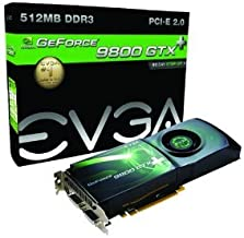 512 P3 N873 BE - evga 512 P3 N873 BE EVGA 512-P3-N873-AR e-GeForce 9800 GTX + 512 MB DDR3 PCI-Express 2.0