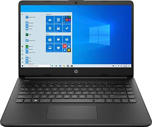 "HP - 14"" Laptop - AMD Athlon Silver - 4GB Memory - 128GB SSD - Jet Black - 14-fq0013dx"