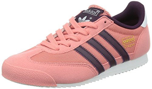 adidas Mädchen Dragon J Sneaker, rosa, 35.5 EU