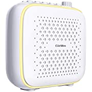 Corlitec White Noise Machine with Night Light for Sleeping, 39 High Fidelity Sleep Machine Soundtracks, Timer & Memory Feature, Sound Machine for Home, Office
