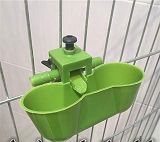 aizhinuo Herramientas de alimentación de cuenco de agua para beber de codorniz para pájaros