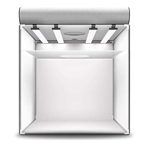 HAVOX - Fotostudio HPB-80XD - Maße 80x80x80cm - 4X Dimmbare LED-Beleuchtung Tageslicht 5500k - 26,000 Lumen - CRI 93 - Machen Sie Ihre kommerziellen Fotos zu E-Commerce