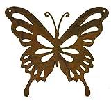 Rostikal Deko Schmetterling 14 x 12 Hängedeko Fenster Gartendeko Rost Fensterdeko hängend