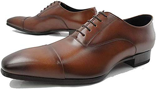 [リーガル] 10LR 10LRBD ストレートチップ ハイヒール仕様 メンズ ビジネスシューズ 靴 (25.0, ブラウン)