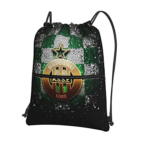 A-S Sa-Int Etie-Nne Printed Sports Bag Gym Bag Travel Bag Shoe Bag Backpack Shopping Bag Drawstring Zipper Backpack