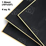 NVX SDBVK4 Premium Stealth Black 4 Square feet 91mm Thick of Sound Deadening Material - One 18' x 32' Piece