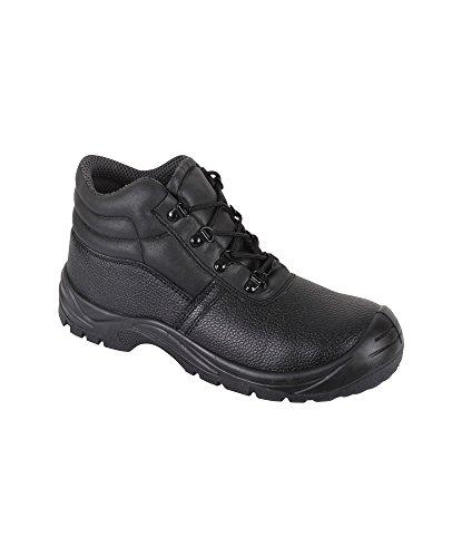 Alexandra Stc-fw21bk-12 Footsure Base London pour homme Executive Chaussure, UNI, 100% cuir Dessus, taille : 12, Noir