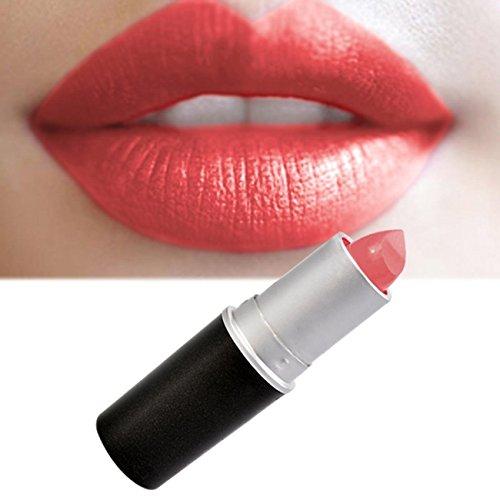 CRAVOG Lippenstift matt 24 Farben sexy wasserdicht Lipgloss Make-Up Mund Schminken