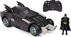 EPIC LAUNCHING ACTION: This remote control Batmobile features a spring-loaded eject feature! Push the button on the controller and automatically launch Batman (figure included) into Super Hero action! FULL-FUNCTION RC: Drive your Launch and Defend Ba...
