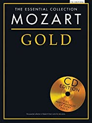 Gold Mozart Essential Piano Collection + Cd