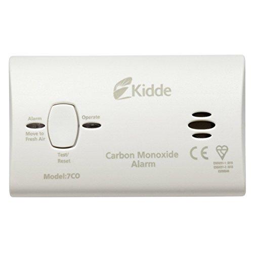 2x Alarma de Kidde 7COC–detector de monóxido de carbono (batería reemplazable) 10Año Sensor y garantía