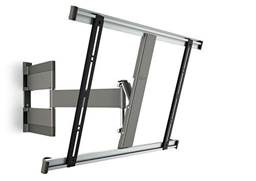 Vogel's THIN TV-Wandhalterung für 102-165 cm (40-65 Zoll) Fernseher, 180° Vogel's Wandhalterung schwenkbar und neigbar, max. 25 kg, Vesa max. 600 x 400, grau