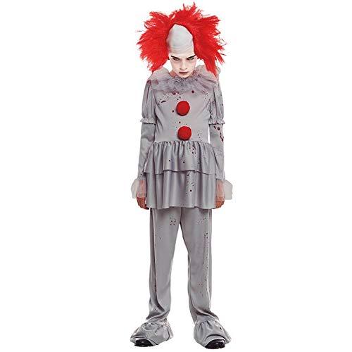 Disfraz Payaso Sádico Gris Niño (3-4 años) Halloween (+ Tallas ...