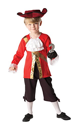Rubie 's Offizielles Kind 's Disney Alice in Wonderland Captain Hook – Medium