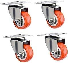 Zwenkwielen wielen trolley wielen 40mm / 50mm Zwenkwielen zwaar uitgevoerd met rem |Zwenkwielen voor meubels Verplaatsen ...