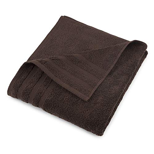 EGYPTIAN COTTON DRYFAST BATH TOWEL BY MARTEX  Premium Luxurious Top Hotel Quality  Soft Absorbent Machine Washable Quick Drying  Dark Brown