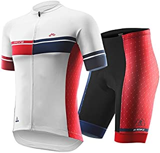 INBIKE Summer Breathable Cycling Jersey and 3D Silicone...