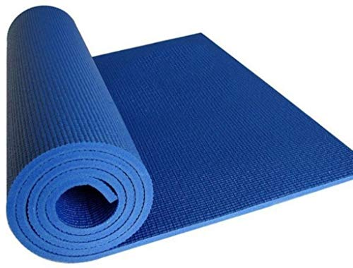 Kk Home Store Decor Yoga Mat High Density, Anti-Slip Yoga mat for Gym Workout and Flooring Exercise Long Size. 4 mm Yoga Mat for Men & Women Fitness, Multicolor