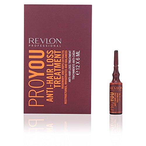 Revlon Profesional ProYou Care Tratamiento Anti-Caída del Cabello (12 ampollas de 6 mL)