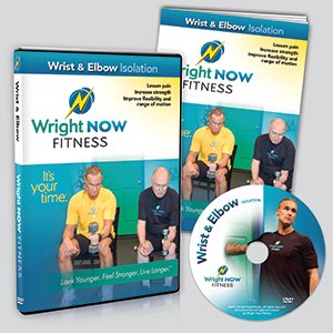 Wrist & Elbow Isolation Exercise and Stretch Workout DVD to Lessen Pain, Increase Strength, Improve Flexibility and Range of Motion with Aaron Wright