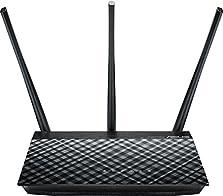 Asus RT-AC53 Router (WiFi 5 AC750 MIMO, 2x Gigabit LAN, App Steuerung, DFS, IPv6, VPN)©Amazon