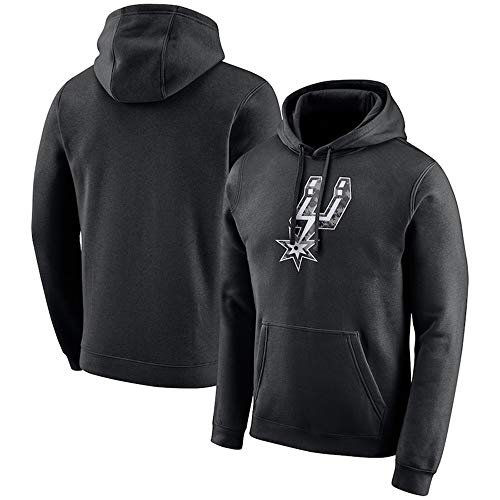 HuWai-Outdoor Sudadera con Capucha NBA San Antonio Spurs Camiseta con Estampado de Baloncesto cómoda S-3XL, M