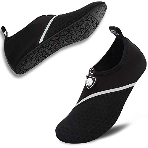 VIFUUR Unisex Quick Drying Aqua Water Shoes