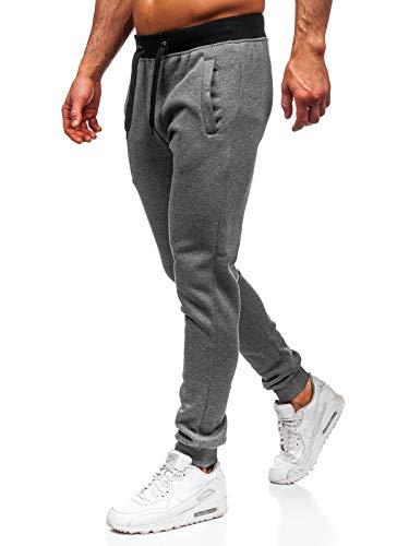 BOLF Hombre Pantalón De Chándal Pantalón de Algodón Estilo Deportivo 6F6
