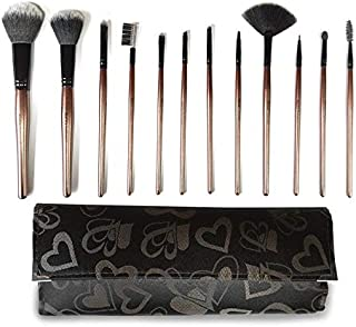 Rucci The Ultimate Lush 12-piece Roll-up Makeup Brush Set