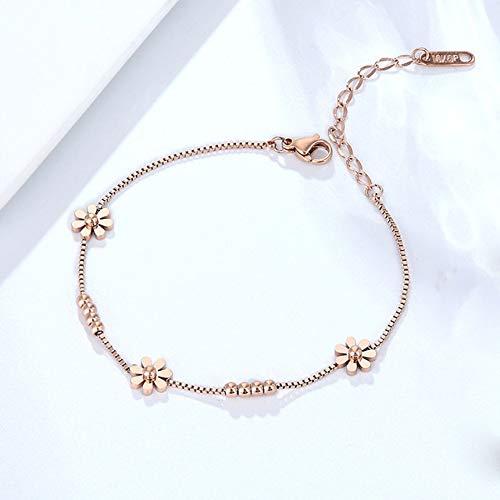 BRTTHYE roestvrij stalen armband voor vrouwen meisje geschenk gouden sieraden bedelarmband