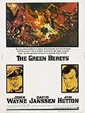 The Green Berets - John Wayne – Film Poster Plakat