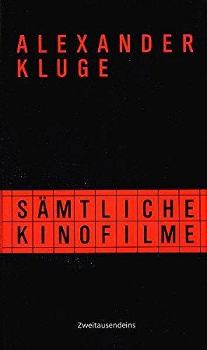 Alexander Kluge - Sämtliche Kinofilme (16 DVDs) - NZZ Format