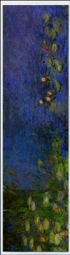 Ninfee di Monet (segnalibro arte)