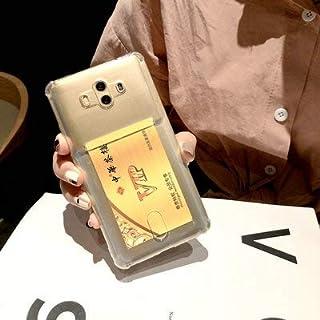 Huawei Mate10 Proケース クリア カード収納 Cavor huawei Mate10 Pro ケース クリア ソフトカバー 薄型 透明TPU 指紋防止 落下防止 傷防止 軽量 Qi急速充電対応 Huawei Mate10 Pro 専用カバー Huawei Mate10 Pro 保護カバー 携帯カバー 高透明 【透明】