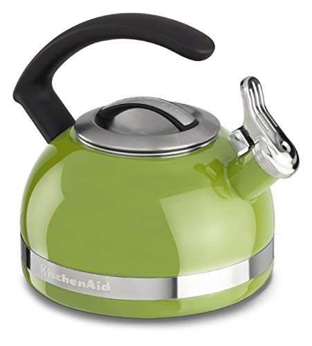 KitchenAid KI979AN Chaleira com Apito, Verde (Sunkissed Lime), 1.9L