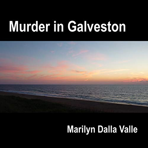 Murder in Galveston audiobook cover art