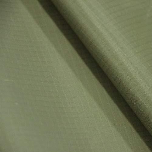 9KM DWLIFE Ripstop-Nylongewebe, 40D, wasserdicht, langlebig, leicht, luftdicht, für Drachen, aufblasbare Flagge, Planen, Zelte, DIY-Projekte (1 Meter: 152,4 x 99,1 cm, 20 Olivgrün)