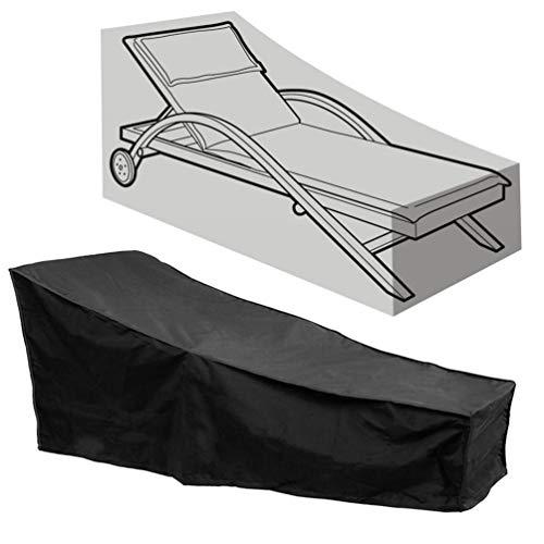 AsiaCreate - Fundas para tumbonas de patio, para exteriores, impermeables, para sillas de salón