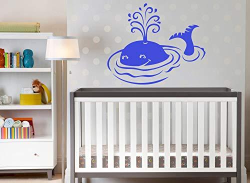 Dozili Walvis muur Decal muur Vinyl Sticker Ocean Water Dier Thuis Interieur Verwijderbare Kinderen Kinderkamer Decor 22
