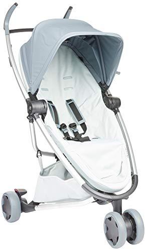Quinny Zapp Flex Kinderwagen, stylischer Komfort Buggy mit 3 Rädern, angenehm leicht, kompakt faltbar und nutzbar ab ca. 6 Monate, Graphite on Grey
