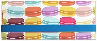 Porta soldi - macaron - cerimonie - busta portasoldi (formato 22 x 9,5 cm) + biglietto d'auguri vuoto all'interno - ideale...