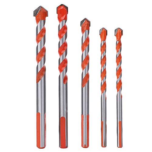 bits de perforación Resistentes, Chuck sin Llave 111 x 8 x 6 mm 124 x 12 x 8 mm 120 x 10 x 8 mm con carburo para la Abertura de la Pared de la Pared de Madera 6-12mm