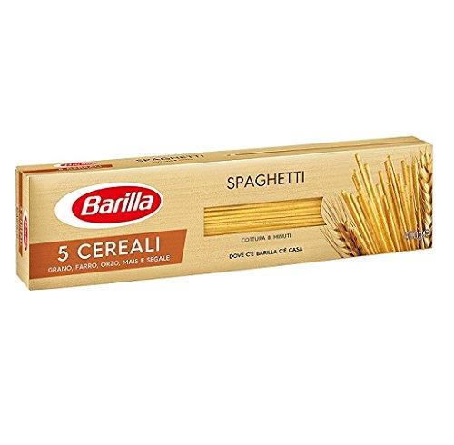 Lot de 5 pâtes Barilla 5 céréales spaghetti céréales italiennes 400 g