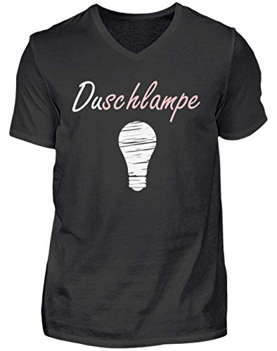 Douchelamp je nachtlamp - is hier een persoon of een lamp bedoeld in de douche? - V-halsshirt voor heren